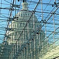 A View Of The Capitol From The Visitor Center by Lois  Ivancin Tavaf