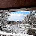 A View Of The Maunesha In A Fresh Blanket Of Snow by Janice Adomeit