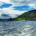 A View Of Urquhart Castle From Loch Ness by Joan-Violet Stretch