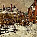 A Village In The Snow by Henry King