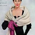 A Vogue Cover Of A Woman Wearing Balenciaga by Frances Mclaughlin-Gill