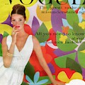 A Vogue Cover Of Dolores Hawkins With A Floral by William Bell
