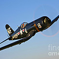 A Vought F4u-5n Corsair Aircraft by Scott Germain