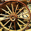 A Wagon Wheel by Jeff Swan