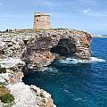 Xviii Defensive Tower In Alcafar Minorca - A Walk About Cliffs by Pedro Cardona Llambias
