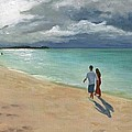 A Walk At Tumon Bay Guam by Deborah Butts