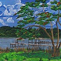 A Walk By Lake Clay by Beverly Marshall