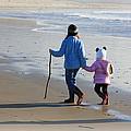 A Walk On The Beach by Athena Mckinzie