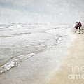 A Walk On The Beach by Julie Woodhouse