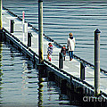 A Walk On The Pier by Micki Findlay