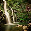 A Waterfall In Hana, Maui by Rob Hammer