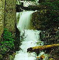 A Waterfall In Spring Thaw by Jeff Swan