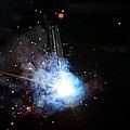 A Welder's Universe by Daniel Alcocer