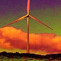 A Western Windmill by Angela L Walker