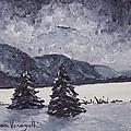 A Winter Evening by Monica Veraguth