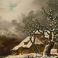 A Winter Landscape by Mountain Dreams