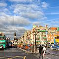 A Winter Stroll In Dublin Ireland by Mark Tisdale