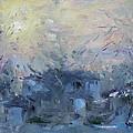 A Winter Sunrise by Ylli Haruni