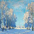 A Winter's Day by Konstantin Ivanovich Gorbatov