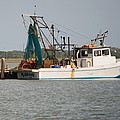 Seadrift Texas Working Boat by JG Thompson