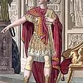 A Young Emperor In His Imperial Armour by Jacques Grasset de Saint-Sauveur