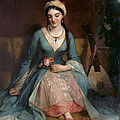 A Young Greek Woman  by Henry W Pickersgill