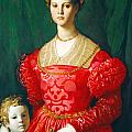 A Young Woman And Her Little Boy by Bronzino