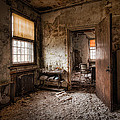 Abandoned Asylum - Haunting Images - What Once Was by Gary Heller