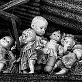 Abandoned Baby Dolls by Cindy Archbell