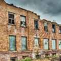 Abandoned Brick Building by Paul Freidlund