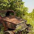 Abandoned Car by William Norton