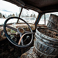Abandoned Chevrolet Truck - Inside Out by Gary Heller