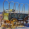 Abandoned Covered Wagon by Ken Smith