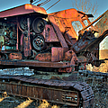 Abandoned Digger At The Marmora Iron Mine. by Rob Huntley