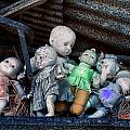 Abandoned Dolls by Cindy Archbell