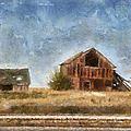 Abandoned Farm 01 Photo Art by Thomas Woolworth