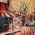 Abandoned Farm by Lizi Beard-Ward
