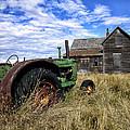 Abandoned Farm Saskatchewan Canada by John T Fowler