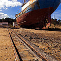 Abandoned Fishing Ship by Jose Elias - Sofia Pereira