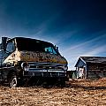 Abandoned Ford Van by Cale Best