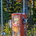Abandoned Gas Pump by Alana Ranney