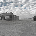 Abandoned Homestead Series Selective Color by Cathy Anderson