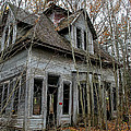 Abandoned House In New Hampshire by Allan Johnson