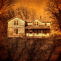 Abandoned House Sunset by Jill Battaglia