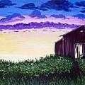 Abandoned In The Evening by Joy Gilley