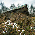 Abandoned Places - Old House - House On The Hill by Gary Heller