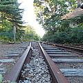 Abandoned Railroad 1 by Nina Kindred
