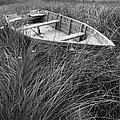 Abandoned Row Boat Along The Shoreline On Prince Edward Island by Randall Nyhof