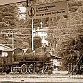 Abandoned Steam Train In Italy by Brenda Kean