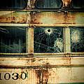 Abandoned Train Car by Jill Battaglia